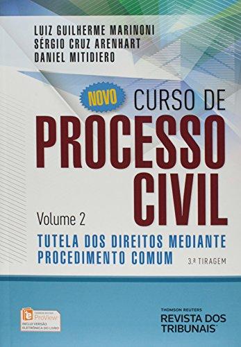 9788520359570: Novo Curso De Processo Civil: Tutela Dos Direitos Mediante Procedimento Comum - Vol.2 (Em Portuguese do Brasil)