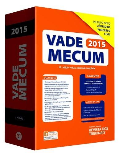 9788520360507: Vade Mecum RT 2015