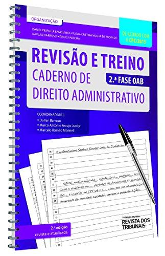 9788520367759: Revisão e Treino. Caderno de Direito Administrativo. 2ª Fase OAB (Em Portuguese do Brasil)