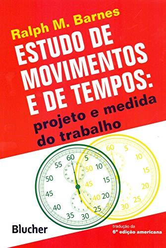 9788521200109: Estudo de Movimentos e de Tempos