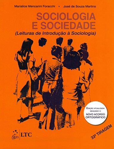 9788521605997: Sociologia e Sociedade. Leituras de Introdução a Sociologia (Em Portuguese do Brasil)