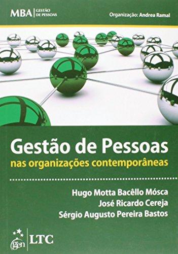 9788521626268: Gestao de Pessoas nas Organizacoes Contemporaneas - Serie Mba Gestao de Pessoas