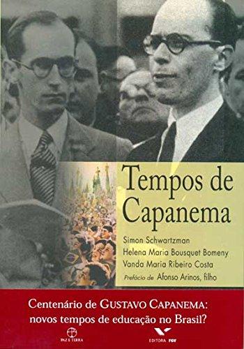 9788521903550: Tempos de Capanema (Em Portuguese do Brasil)