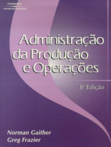9788522102372: ADM.DA PRODUCAO E OPERACOES - G