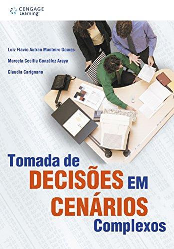 9788522103546: TOMADA DE DECISOES EM CENARIOS COMPLEXOS