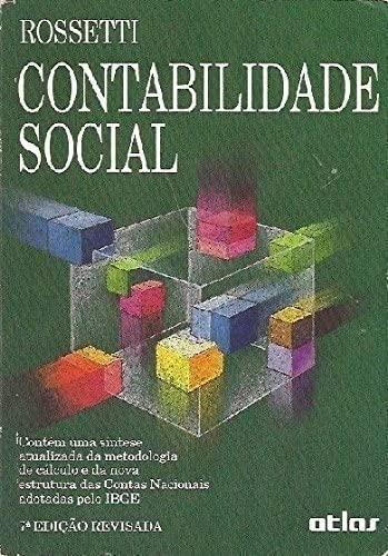 9788522407941: Contabilidade Social (Em Portuguese do Brasil)