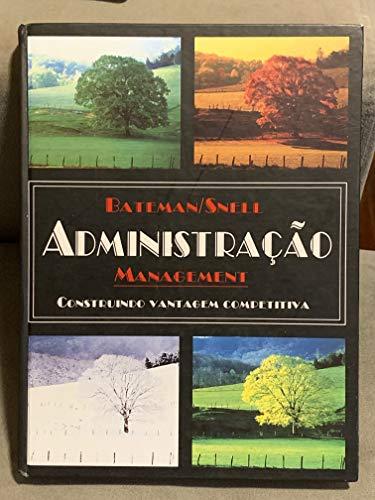 9788522419234: Administracao - Construindo Vantagem Competitiva (Em Portuguese do Brasil)