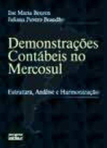 9788522429356: Demonstrações Contábeis no Mercosul
