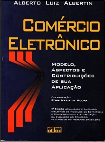 9788522431441: Comércio Eletrônico : Modelo, Aspectos e Contribuições de sua Aplicação (Portuguese edition)