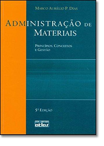 9788522439591: Administração de Materiais: Princípios, Conceitos e Gestão