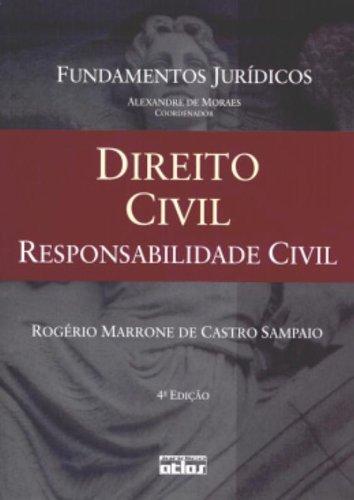 9788522445134: Direito Civil: Responsabilidade Civil - Vol.4 - Coleao Fundamentos Jur'dicos