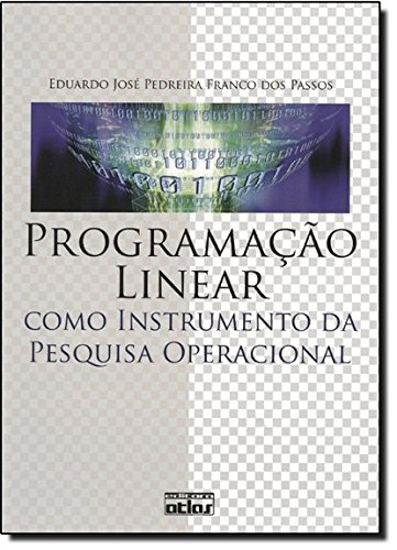 9788522448395: Programa‹o Linear Como Instrumento da Pesquisa Operacional