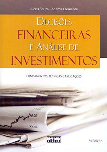 9788522450374: Decisoes Financeiras e Analise de Investimentos: Fundamentos, Tecnicas e Aplicacoes
