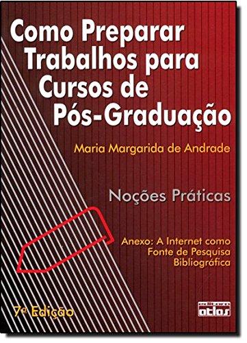 9788522451036: Como Preparar Trabalhos Para Cursos De Pos-Graduação (Em Portuguese do Brasil)