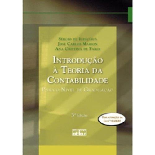 9788522453610: Introdução à Teoria da Contabilidade. Para o Nível de Graduação (Em Portuguese do Brasil)