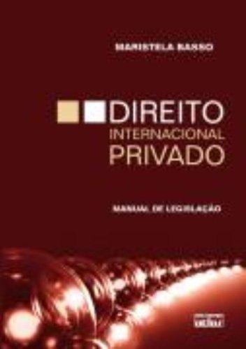 9788522454631: Direito Internacional Privado: Manual de Legislaao