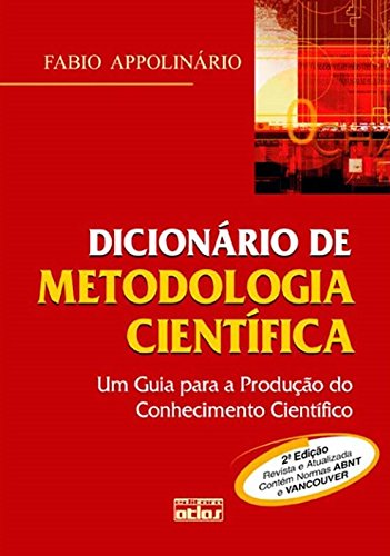 9788522454822: Dicionário de Metodologia Científica. Um Guia Para a Produção do Conhecimento Científico (Em Portuguese do Brasil)
