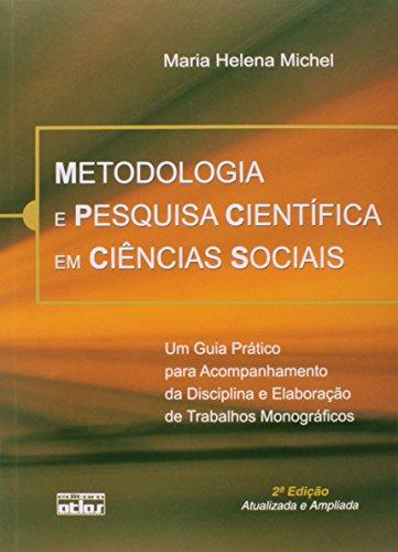 9788522455195: Metodologia e Pesquisa Cientifica em Ciencias Sociais