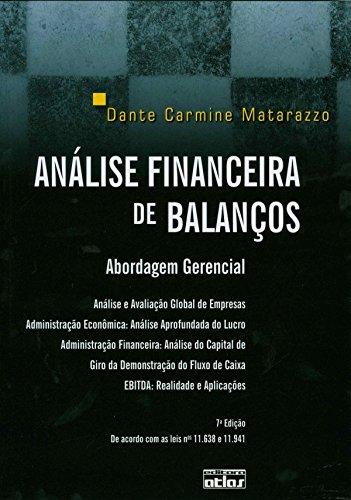 9788522456925: Analise Financeira de Balancos: Abordagem Gerencial - Livro Texto