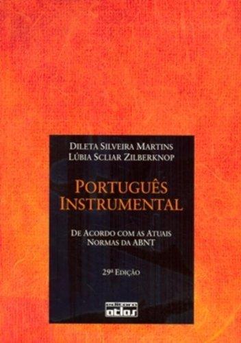 9788522457229: Portugues Instrumental: de Acordo Com as Normas Atuais da Abnt