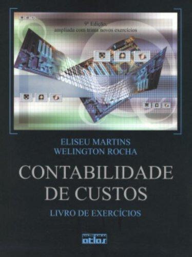9788522459353: Contabilidade de Custos. Livro de Exercícios (Em Portuguese do Brasil)