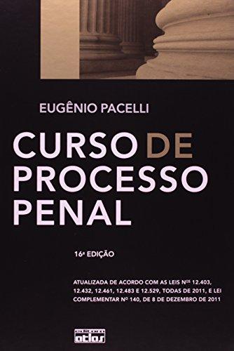 9788522468515: Curso De Processo Penal (Em Portuguese do Brasil)