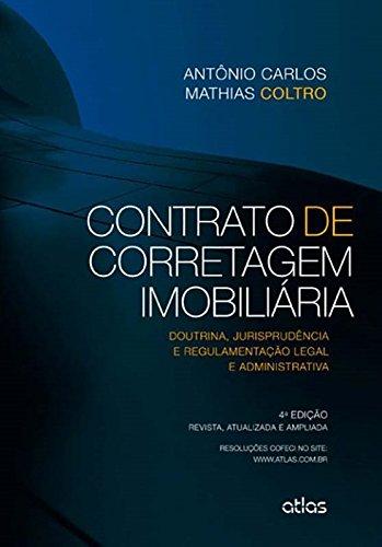 9788522483921: Contrato de Corretagem Imobiliária. Doutrina Jurisprudência e Regulamentação e Administrativa (Em Portuguese do Brasil)