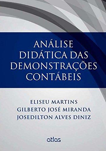 9788522488155: Análise Didática das Demonstrações Contábeis (Em Portuguese do Brasil)