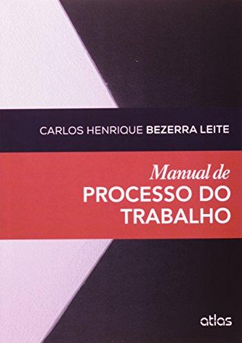 9788522488841: Manual de Processo do Trabalho