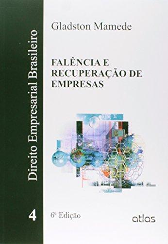 9788522490301: Direito Empresarial Brasileiro: Falencia e Recuperaao de Empresas - Vol. 4