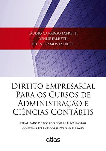 9788522490660: Direito Empresarial Para os Cursos de Administraao e Ciencias Contabeis
