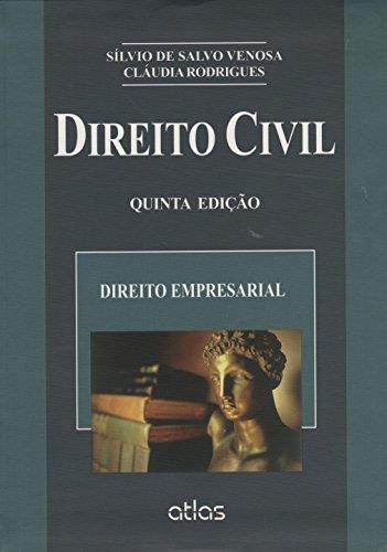 9788522496808: Direito Civil. Direito Empresarial - Volume 8. Coleção Direito Civil (Em Portuguese do Brasil)