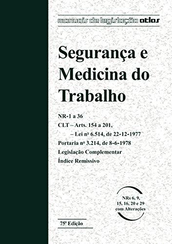 9788522497768: Segurança E Medicina Do Trabalho (Em Portuguese do Brasil)