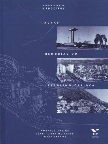 9788522506507: Novas Memórias do Urbanismo Carioca (Em Portuguese do Brasil)