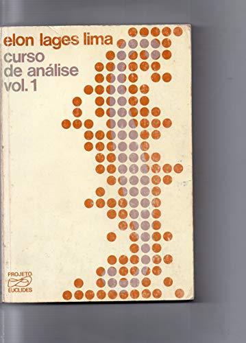 9788524401183: Curso de Analise - Vol.1