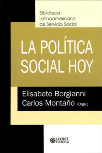 9788524907258: La Política Social Hoy