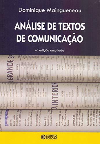 9788524919527: Analise de Textos de Comunicacao