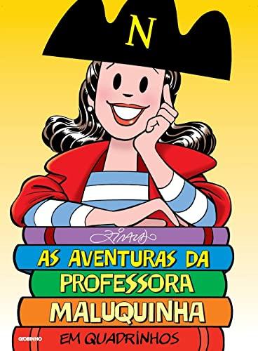 9788525048639: Aventuras da Professora Maluquinha Em Quadrinhos (Em Portugues do Brasil)