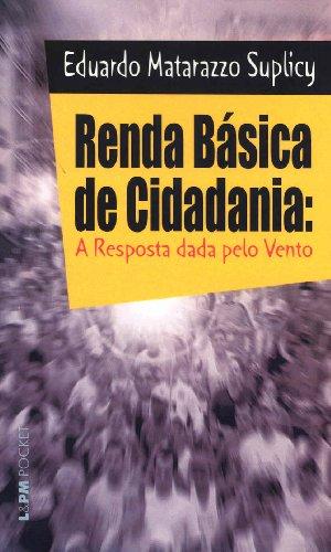 9788525414793: Renda Basica De Cidadania (Em Portuguese do Brasil)