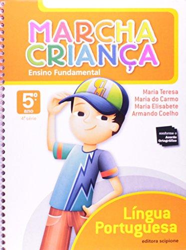 9788526270626: Marcha Criança. Lingua Portuguesa. 5º Ano - 4ª Série (Em Portuguese do Brasil)