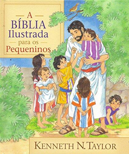 9788526305502: A Bíblia Ilustrada Para Os Pequeninos (Em Portuguese do Brasil)