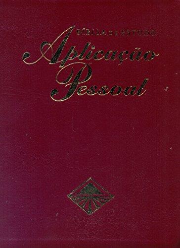 9788526305878: Bíblia de Estudo Aplicação Pessoal. Vinho - Volume 1 (Em Portuguese do Brasil)