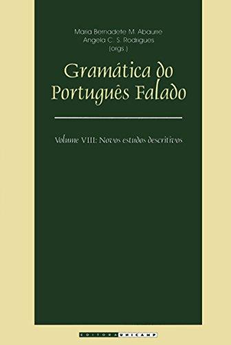 9788526805996: Gramática do Português Falado. Novos Estudos Descritivos - Volume VIII (Em Portuguese do Brasil)