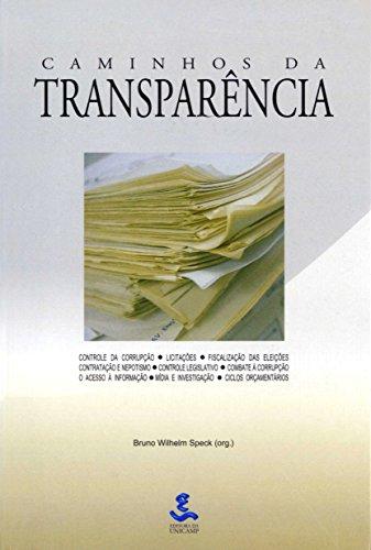 9788526806115: Caminhos da Transparência (Em Portuguese do Brasil)