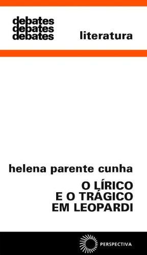 9788527305105: O Lírico e o Trágico em Leopardi (Em Portuguese do Brasil)