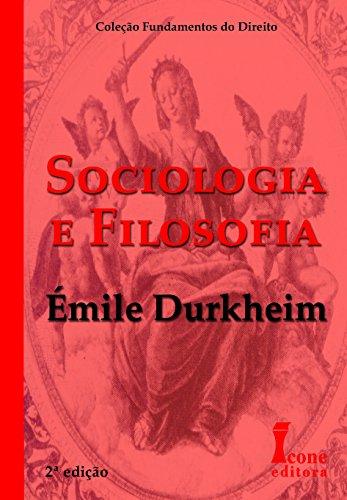 9788527409254: Sociologia E Filosofia - Coleção Fundamentos De Direito (Em Portuguese do Brasil)