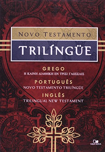 9788527502634: NOVO TESTAMENTO TRILINGUE - GREGO/PORTUGUES/INGLES