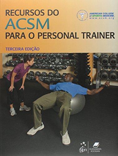 9788527717533: Recursos do ACSM Para o Personal Trainer (Em Portuguese do Brasil)