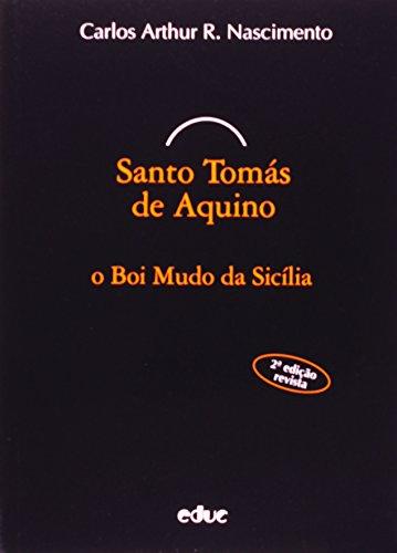 9788528300208: Santo Tomas de Aquino: O Boi Mudo da Sicilia