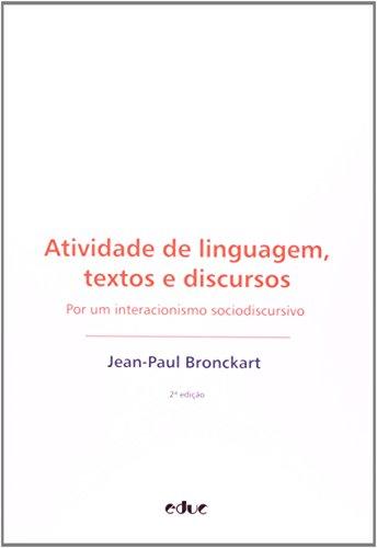 9788528301816: Atividade De Linguagem. Textos E Discursos (Em Portuguese do Brasil)